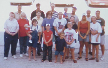 Family at Cocoa Beach